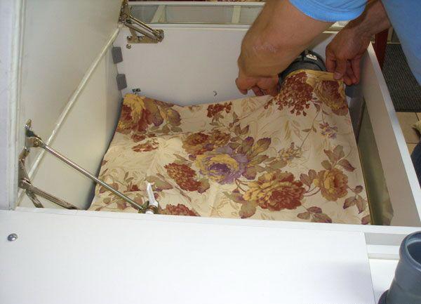 этап 5 по чистке подушки