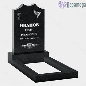 Маленький памятник на могилу №1